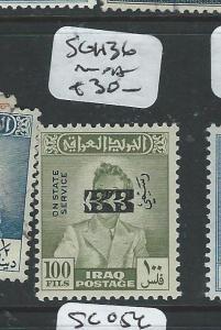 IRAQ (P1303B) SG 1136   VFU