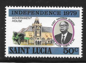 St Lucia Mint Never Hinged [4183]