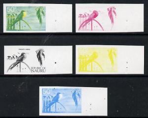 Nauru 1973 Frigate bird 50c definitive (SG 111) set of 5 ...