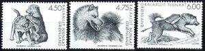 Greenland #409-11 MNH CV $6.50 (X1245)