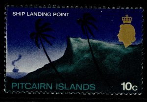 PITCAIRN ISLANDS QEII SG101, 10c, NH MINT. CHALKY