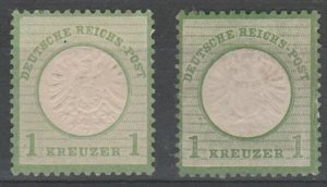 #21,21a Germany Mint NG