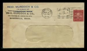 #656 ON MONARCH COFFEE ADVERTISING COVER  -- XF -- BQ3008