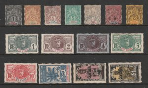 Ivory Coast (French ) a small lot of M&U earlies
