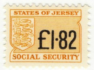 (I.B) Jersey Revenue : Social Security £1.82
