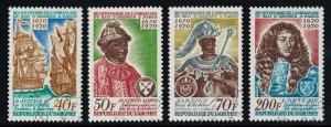 Dahomey Scott 271-274 Mint never hinged.