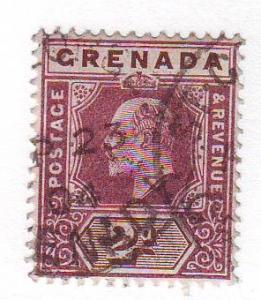Grenada Sc 50 1902 2d Edward VII stamp used