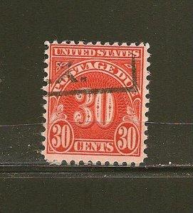 USA J85 Postage Due Used
