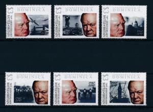 [81096] Dominica 2009 Second World war Battle of Britain Churchill MNH