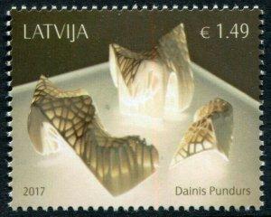 HERRICKSTAMP NEW ISSUES LATVIA Sc.# 970 Danis Pundurs Art