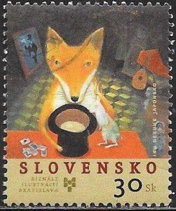 Slovakia 482 Used - Biennale of Children's Book Illustrations, Bratislava
