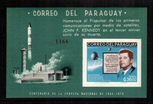 Paraguay  1001a  MNH cat $ 24.00  imperf aaa