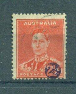Australia sc# 188 used cat value $.40