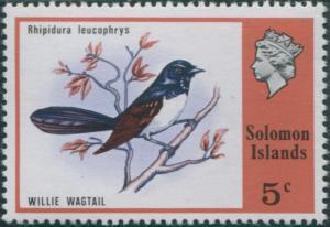 Solomon Islands 1976 SG309 5c Big-eyed Trevally MNH