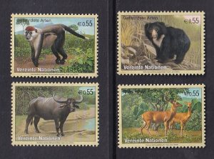 United Nations Vienna  #342-345  MNH  2004  endangered species