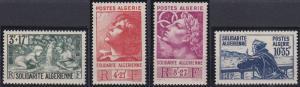 Algeria B47-B50 MNH (1946)