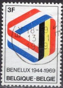 Belgium; 1969: Sc. # 723: O/Used Cpl. Set