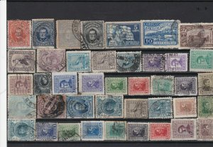 uruguay  used collectable stamps ref r12362