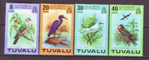J22202 Jlstamps 1978 tuvalu set mnh #73-6 birds