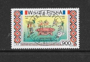 WALLIS & FUTUNA #384  HUMAN RIGHTS   CANCELLED