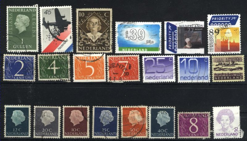 Netherlands   21 different used  PD