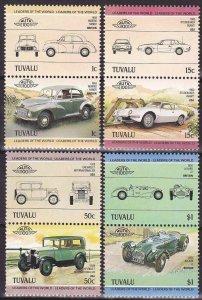 1984 Tuvalu 268-275Paar Cars 6,00 €