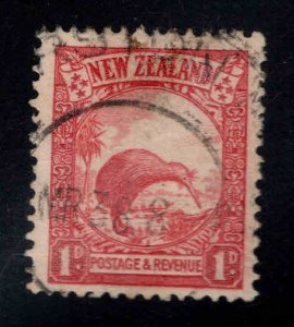 New Zealand Scott 186 Used Kiwi Birrd stamp