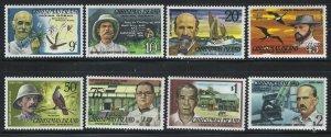 Christmas Islands 1977 Famous Visitors set Sc# 69-84 NH