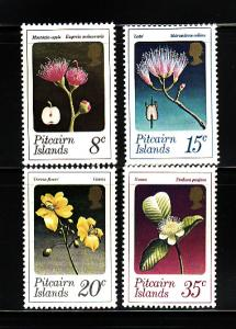 Pitcairn Islands 131-134 MNH Flowers