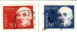 Norway Sc 439-0 1963 Aasen stamps used