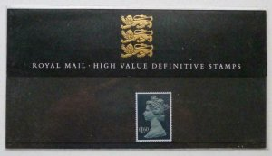 1987 High Value Definitive Pack no.14 Presentation pack - Complete