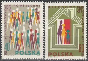 Poland #1758-9  MNH