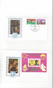 Congo FDC 1979 International Year of the Child Official Cachet