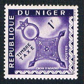 Niger J23 MLH Cross of Agadez (BP1033)