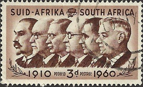 SOUTH AFRICA - 235 - Used - SCV-0.25