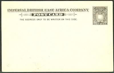 BRITISH EAST AFRICA 1893,  H & G #2, 1 Anna postcard
