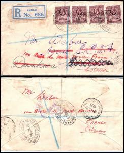 Goldpath: Gold Coast registered cover 1929  _CV22_P14
