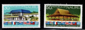 NAURU Scott 128-129 MNH** stamp set