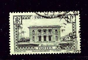 Martinique 157 Used 1933 issue