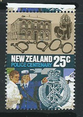 New Zealand SG 1386 VFU with top margin