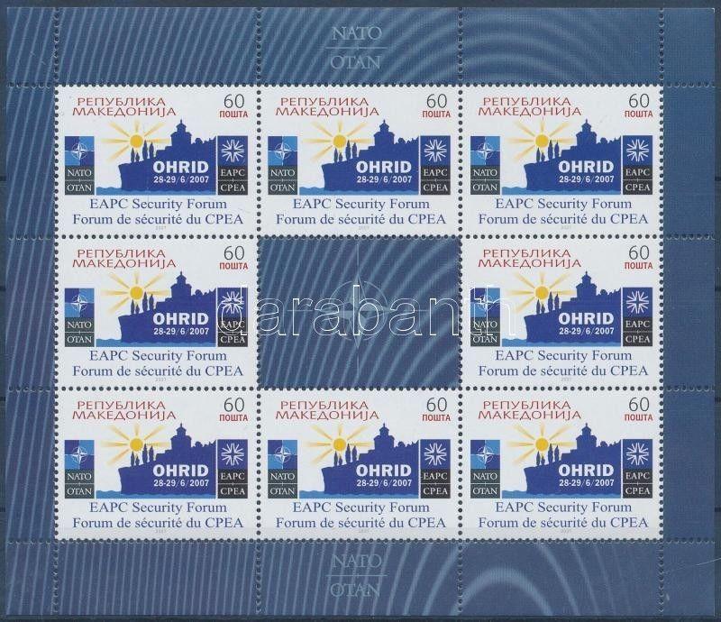 Makedonien stamp Security Council MNH 2007 Mi0437 WS145518