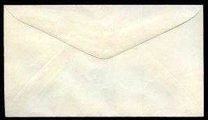 U.S. Scott U536 Albino Error on No. 6 Window Envelope