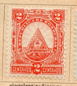 Honduras 1890 Early Issue Fine Mint Hinged 2c. NW-11873