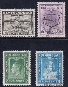 CANADA NEW FOUNDLAND STAMP USED STAMPS COLLECTION LOT #R1