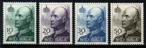 Norway Scott 1017-1020 Mint hinged (Catalog Value $44.00)