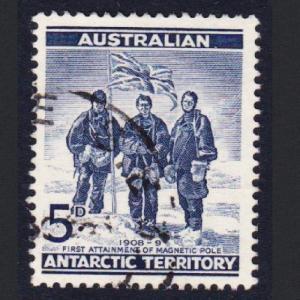 Australian Ant. Terr. Shackleton Expedition 5d canc T2 SG#6 SC#L6