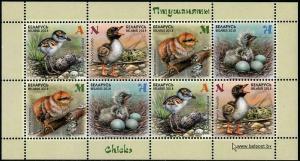 HERRICKSTAMP NEW ISSUES BELARUS Chicks Souvenir Sheet