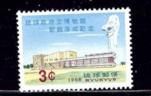 Ryukyu Is 148 MNH 1966 Issue    (ap2320)