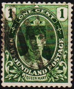 Newfoundland. 1911 1c  S.G.117 Fine Used