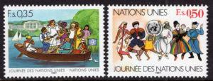 UN Geneva 158-159 MNH VF